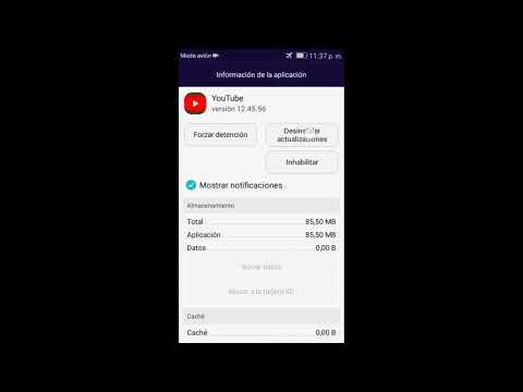 Como eliminar error 410 Youtube Android