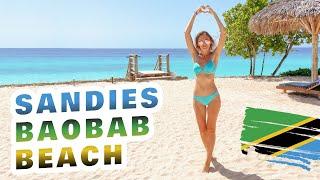 Занзибар 2021 Пляж Нунгви Полный обзор отеля all inclusive Sandies Baobab Beach