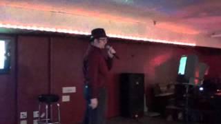 KJay performing Zoot Suit Riot (karaoke)