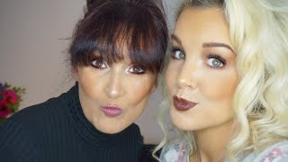 My mother does my makeup ... part 2
