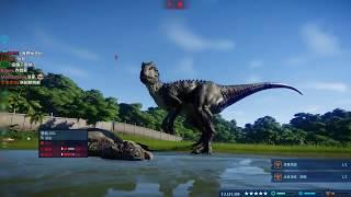 【聶寶】侏儸紀世界 進化精華 帝王暴龍帶你逛園區