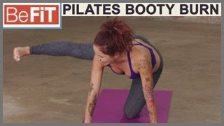 Pilates Core & Booty Burn Workout: BeFiT trainer Open House- Sloan Rabinor
