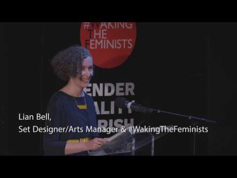 First half of ONE THING MORE #WakingTheFeminists Abbey Theat