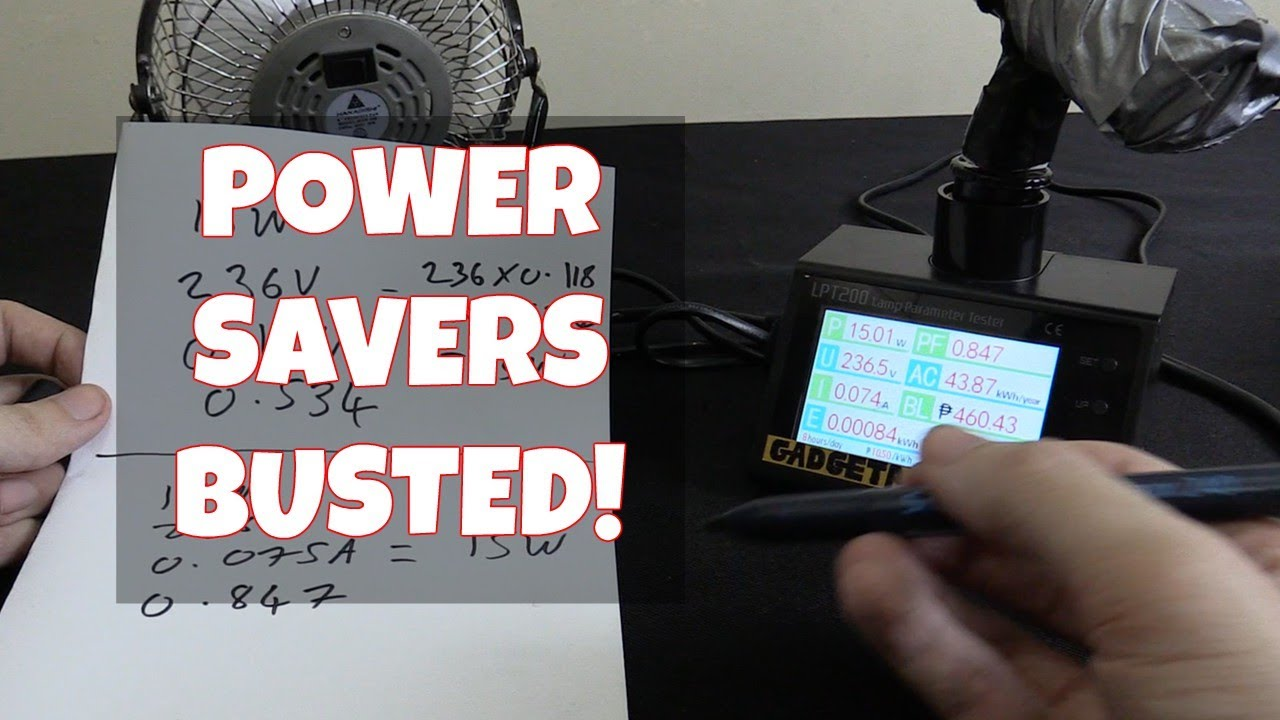 Save Electricity With A Power Saver Busted Youtube Circuit