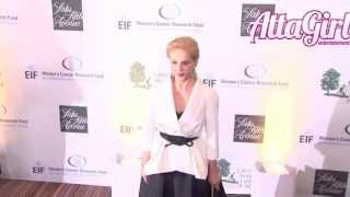Carolina Herrera hits the red carpet for EIF Women's Cancer Fund in Beverly Hills