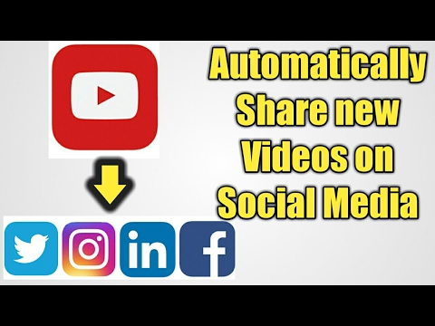 How to Automatically Share YouTube videos on Social media : IFTTT