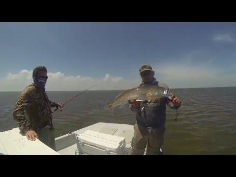 Fishing Trip For Redfish Near Baffin Bay, Texas