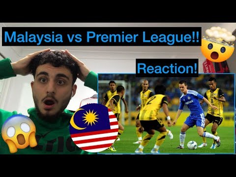 Malaysia against Premier League Giants Reaction!! They Beat Arsenal?!