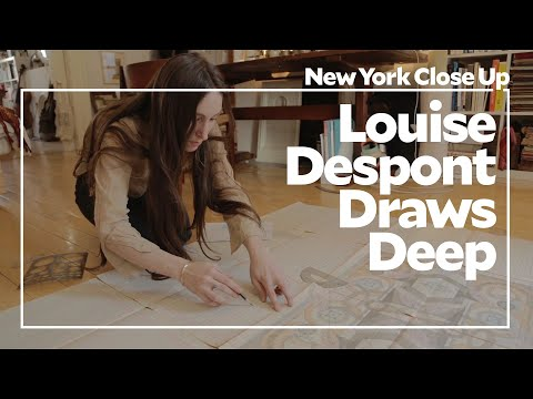 "Louise Despont Draws Deep | ART21 ""New York Close Up"""