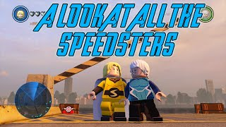 Lego marvel's avengers - a look at the speedsters of lego marvel's avengers