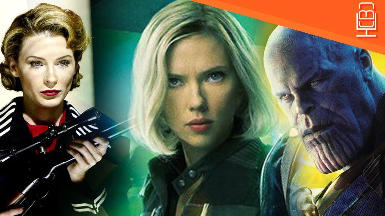 why black widow has blonde hair in avengers infinity war - youtube