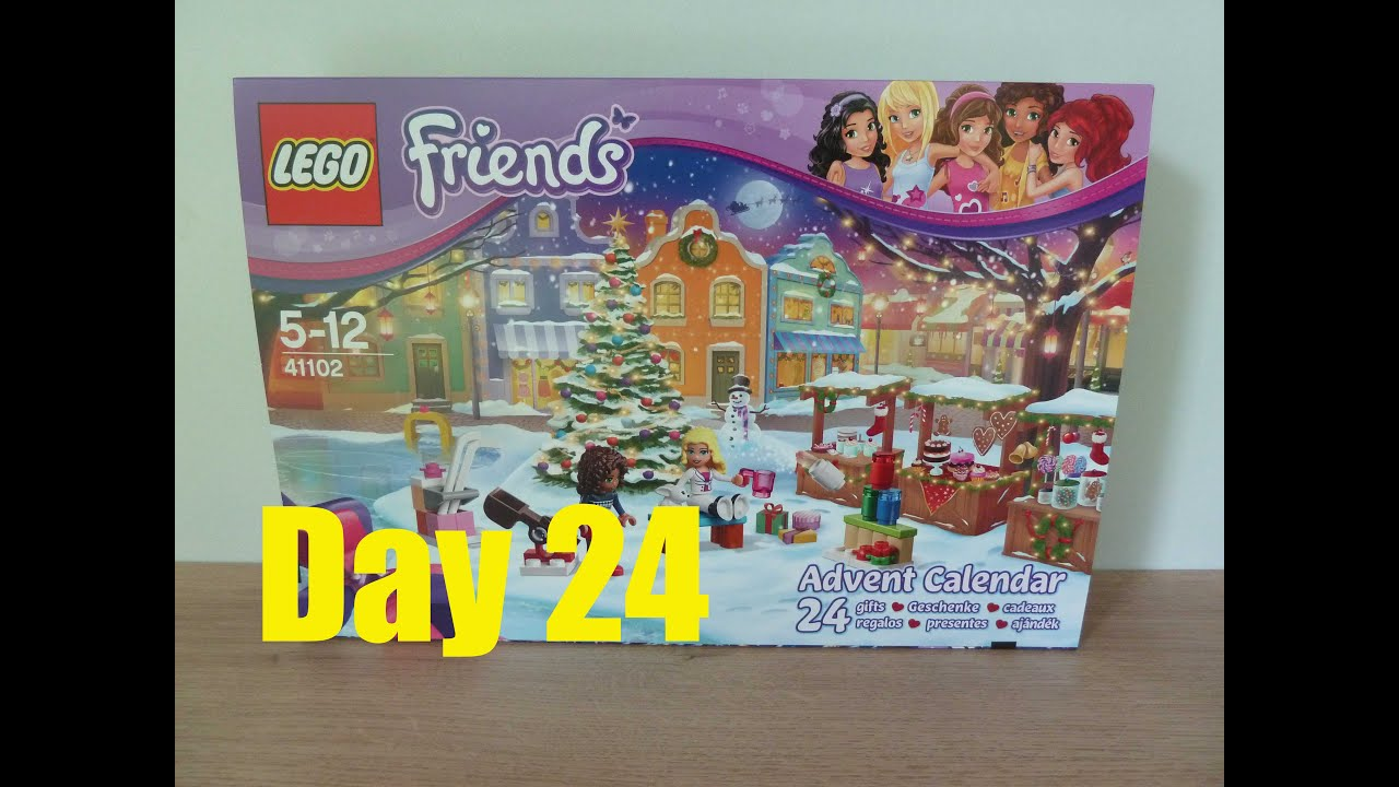 lego friends advent calendar 2015 lego 41102 day 24 youtube. Black Bedroom Furniture Sets. Home Design Ideas