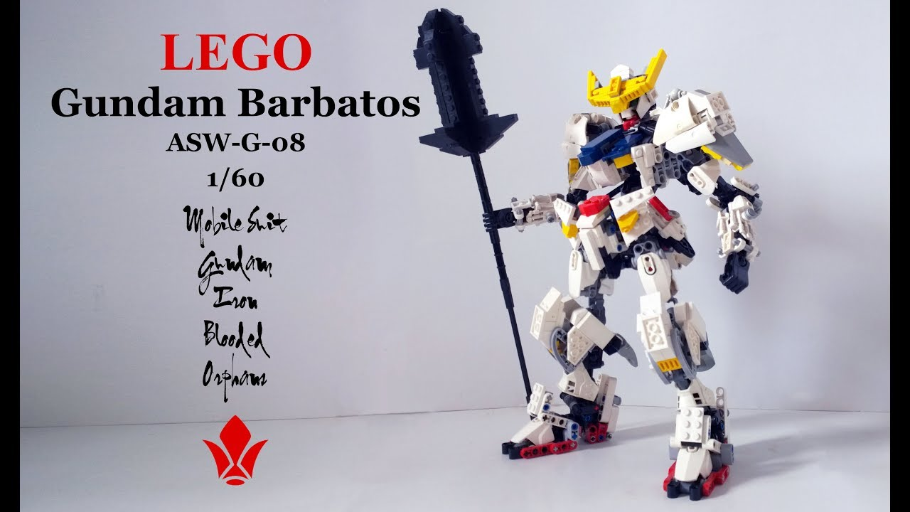 moc lego gundam barbatos all 6 forms asw g 08 1 60 mobile suit