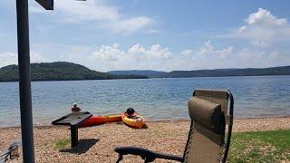 Dam Site Park Beaver Lake In Nw Arkansas