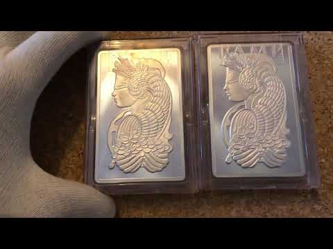 5 Oz Pamp Suisse lady fortuna Silver
