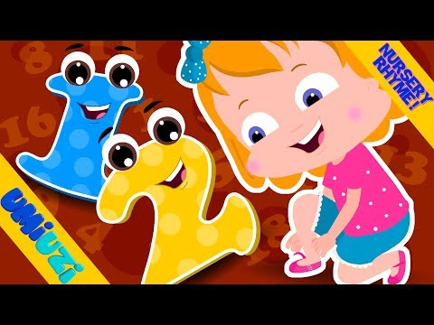 Umi Uzi | One Two Buckle My Shoe | Nursery Rhymes Songs For Children