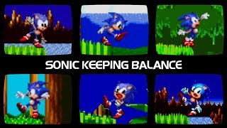 Sonic Keeping Balance Comparison