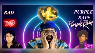 Michael Jackson BAD vs Prince PURPLE RAIN (Song for Song Battle) WHO WINS?!