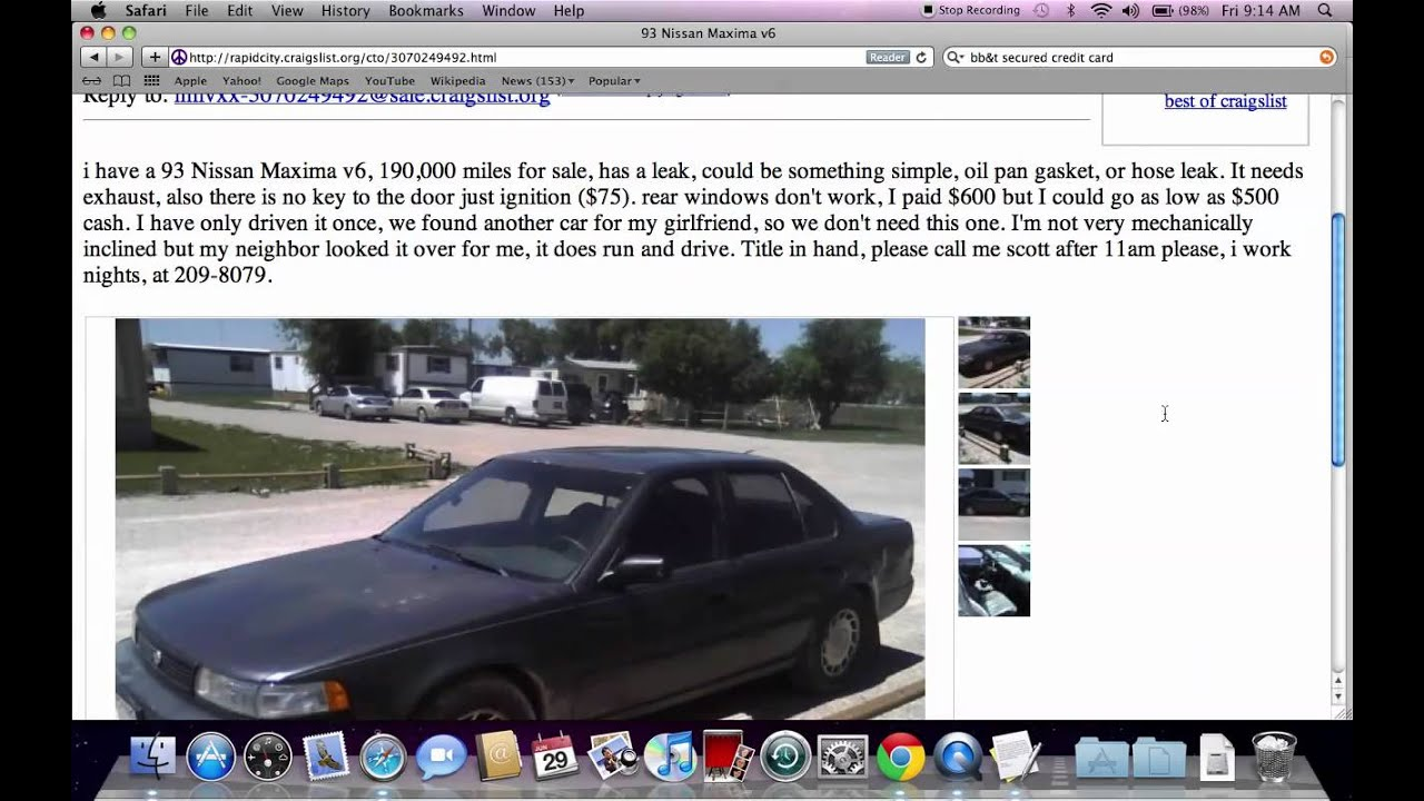 Craigslist of rapid city