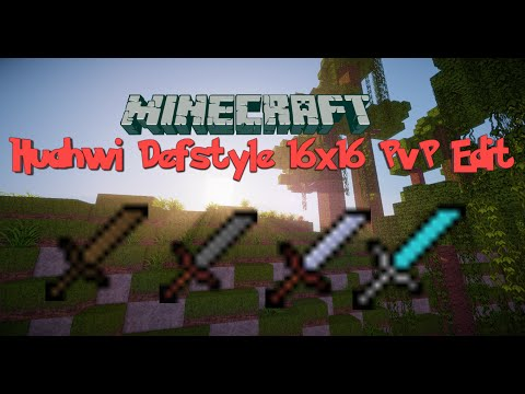 Minecraft PvP Texture Pack: HUAHWI 16x16 DEFSTYLE PvP EDIT!