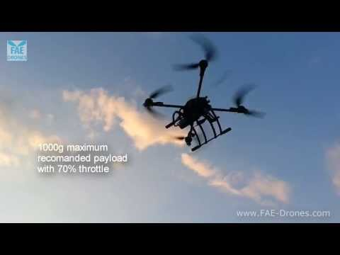 30 min flight Quadcopter FAE drone Q650