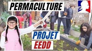 Permaculture et projet de production alimentaire intégrée au système scolaire.