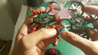 JJRC h36 VS Eachine E010 - same quadcopter?