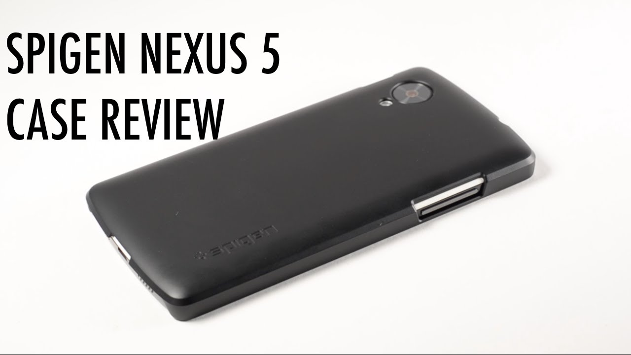 buy popular 428ee 615bf SPIGEN Google Nexus 5 Slim Case Review