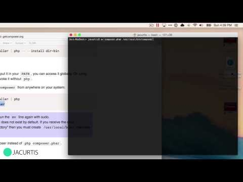 How to Install Composer - Fixing Error #1
