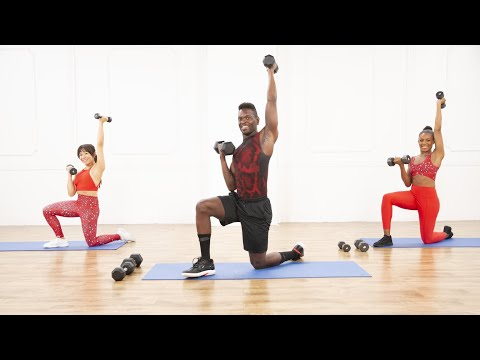 35-Minute Full-Body Workout With Weights