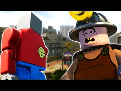 LEGO BRICK RIGS BOB STOPS THE UNDERMINER! - Lego The Incredibles Gameplay #25