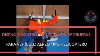 Banco de pruebas para simular vehículo aéreo tipo helicóptero