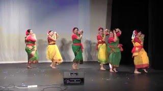Performed by sonia, anusmita, payel, arunima, aparajita, sonali pujari boisakhi ,2016 atlanta, ga.