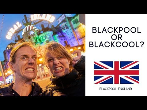 Blackpool OVER-HYPED? Americans Visit Blackpool to see what all the fuss is about