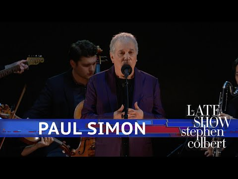 Paul Simon Performs 'Rene & Georgette Magritte With Their Dog After The War' Mp3