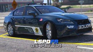 LSPDFR - Day 313 - Police Lexus GS350