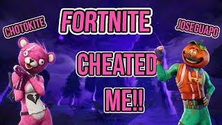 Fortnite Cheated ME! (avec José)
