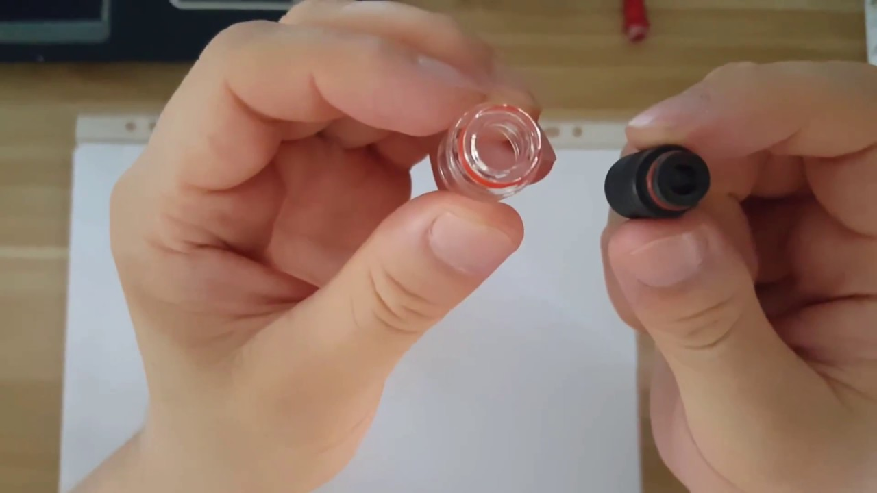 How to use 510 drip tip on 810 port atomizer by adapter VaporFan com