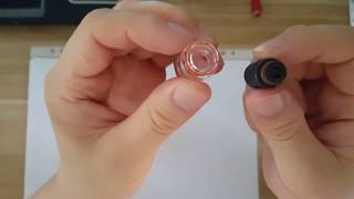 How to use 510 drip tip on 810 port atomizer by adapter|VaporFan.com