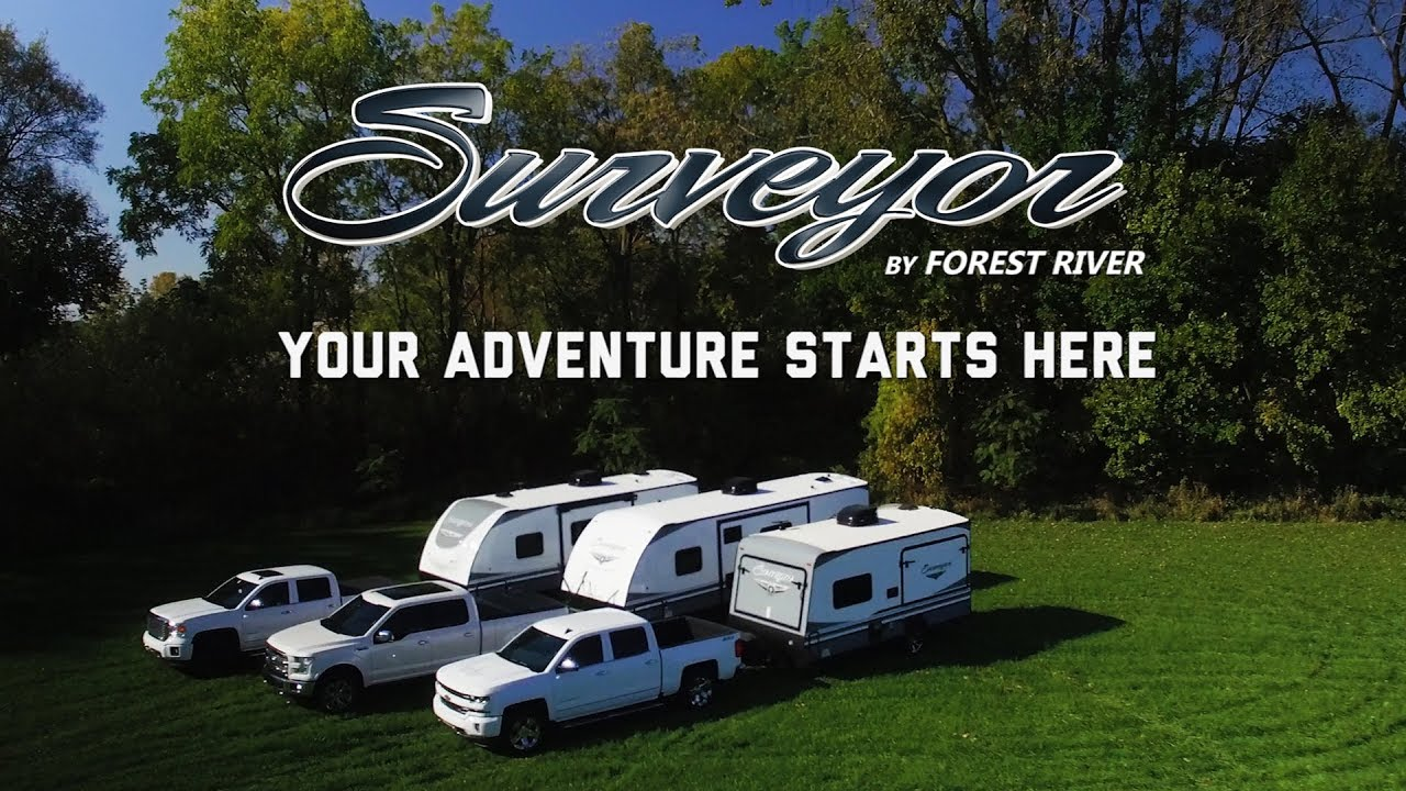 Surveyor Travel Trailers by Forest River RV