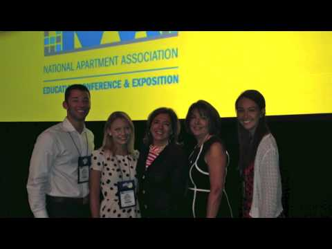 VT Property Management Students Attend NAA Education Expo and Conference