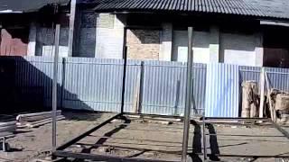 видео Этапы сборки бытовок