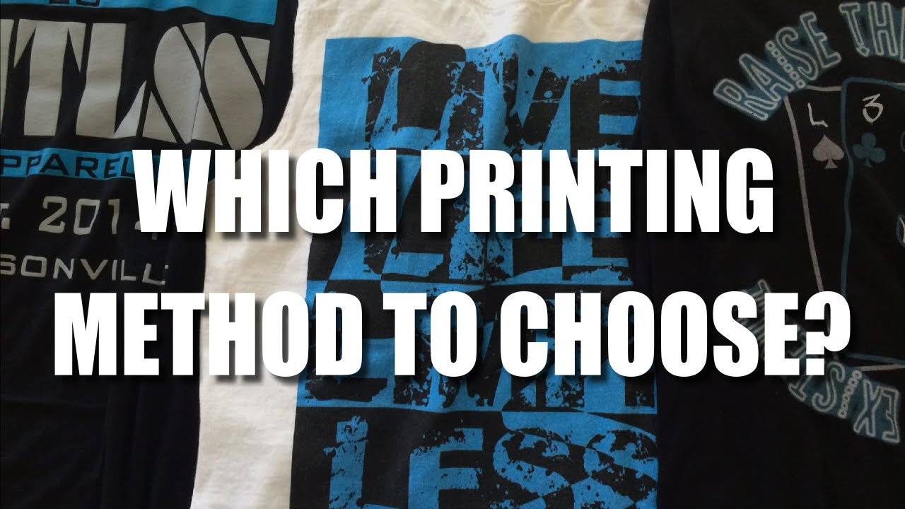 Starting A Clothing Line Screen Printing Vs Dtg Printing