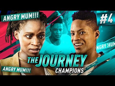 FIFA 19 THE JOURNEY - ANGRY MUM!