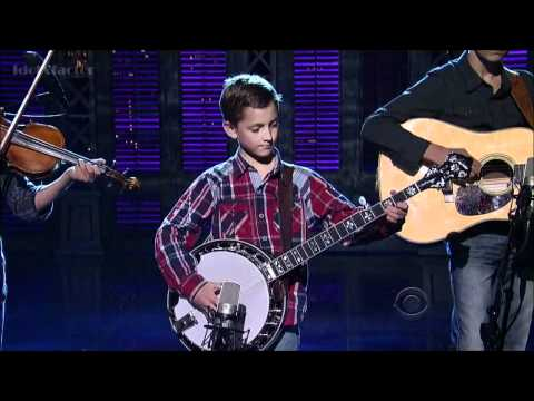 9-Year-Old Plays Banjo on David Letterman Show - Sleepy Man