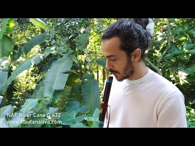 Improviso Native Flute River Cane G 432