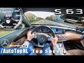 MERCEDES S63 AMG COUPE | AUTOBAHN POV | ACCELERATION & TOP SPEED by AutoTopNL