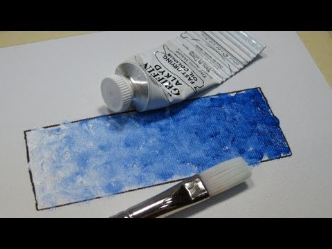 Impressionist Style of Blending Paint