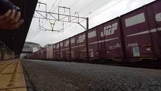 20170907 114759 4095次貨物列車春日站通過