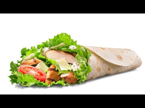 Цезарь салат бургер кинг